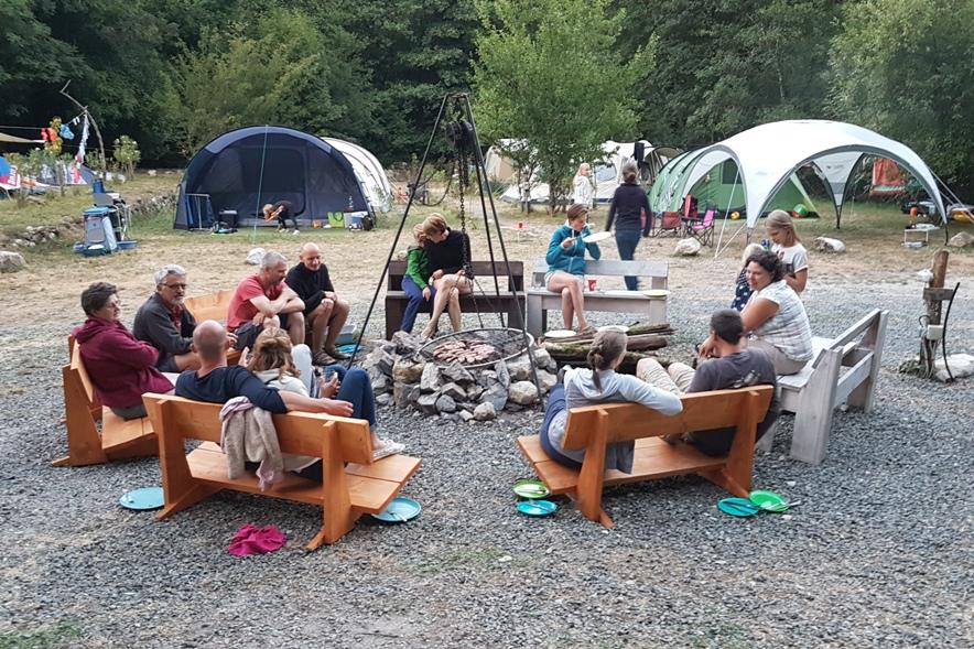 aanbieding kampeerplekken