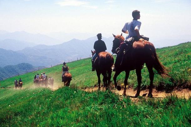 Paardrijden in Val di Vara