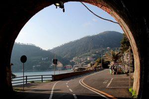 Bonassola fiets tunnel